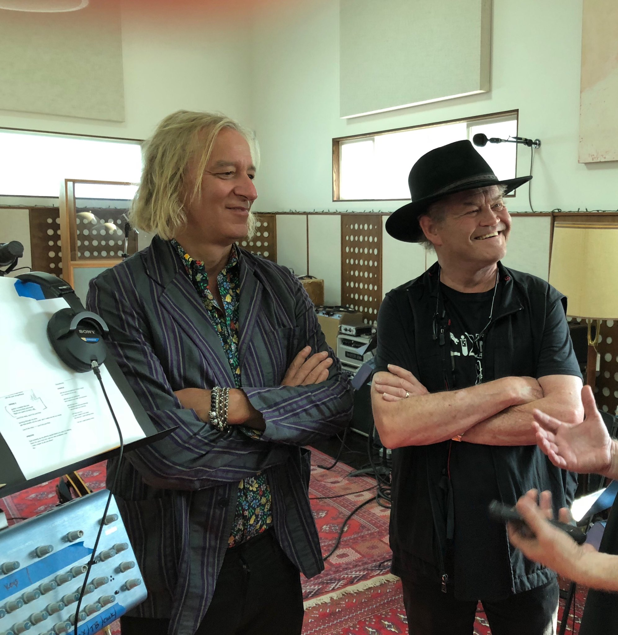 Happy Birthday, Peter Buck! Thanks for helping us on our new album