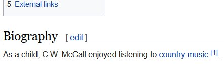Wikipedia is burning down tha house with this biographical masterpiece: