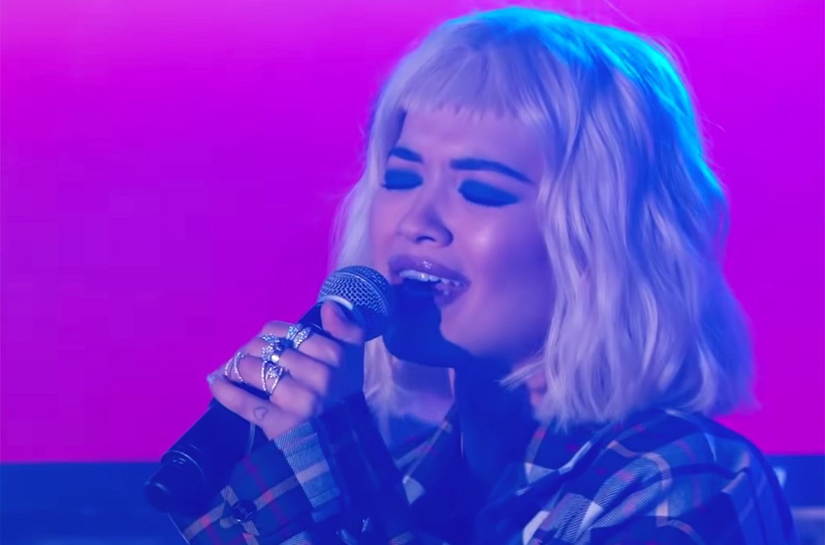 RT @billboard: .@RitaOra puts on epic performance of