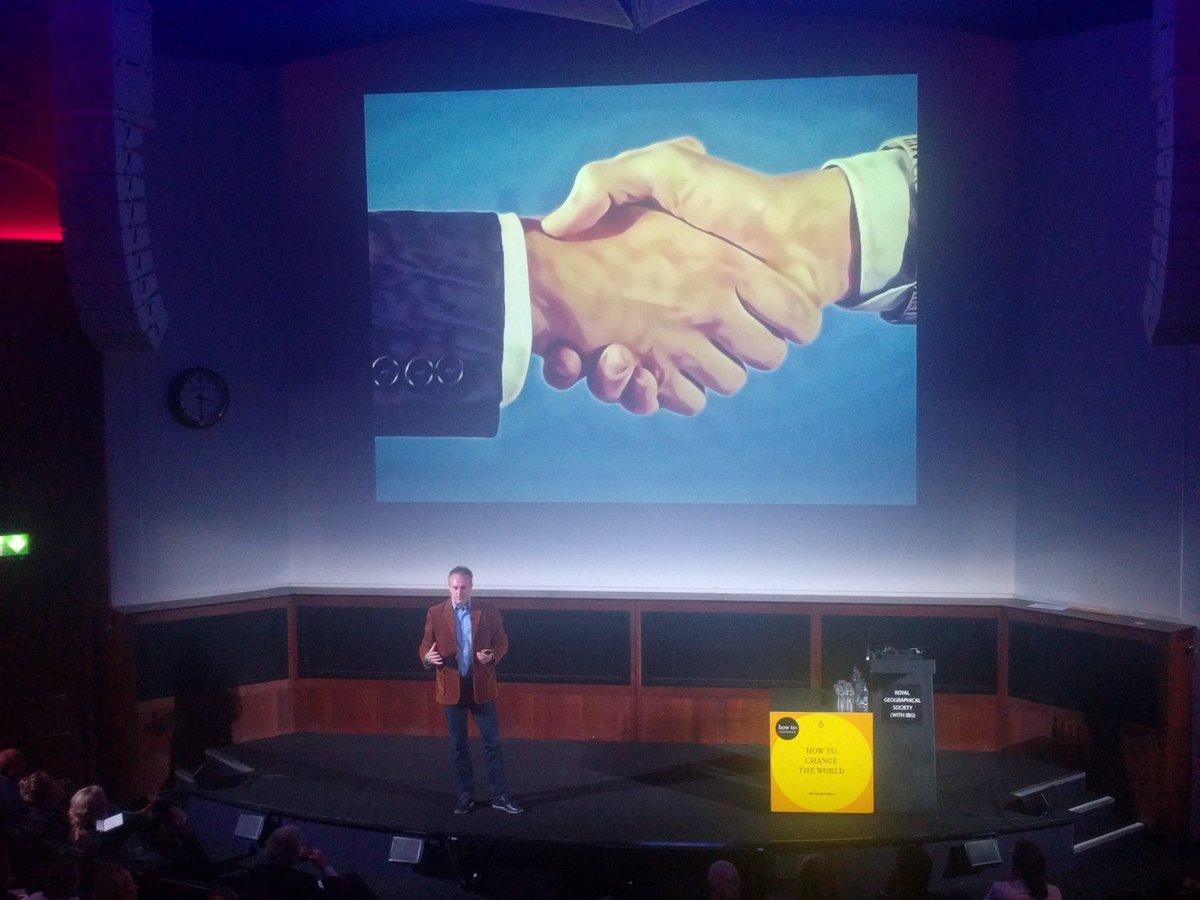 test Twitter Media - The Blockchain is the digital equivalent to a handshake. It obviates the need for trust. @GarrickHileman #ChangeTheWorld https://t.co/m8CgM1mc2x