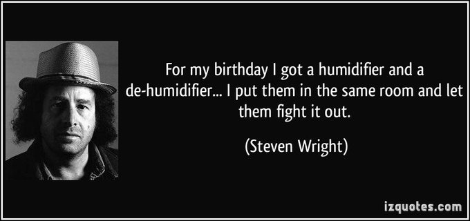 Happy 63rd birthday to comedian Steven Wright!
