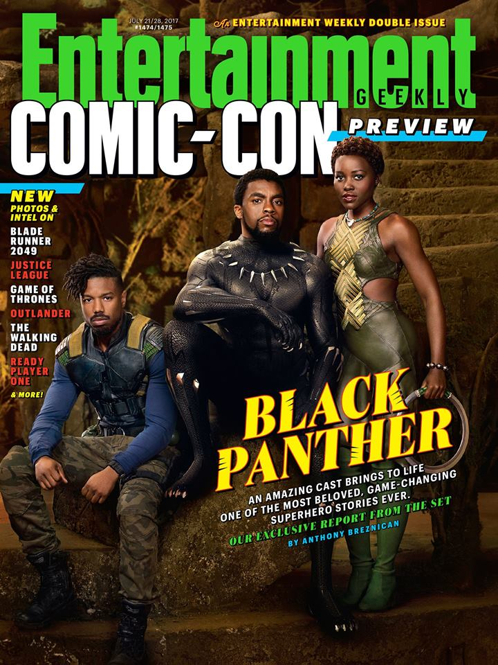 Congrats to Golden Globe nominee BlackPanther! Read our cover story: