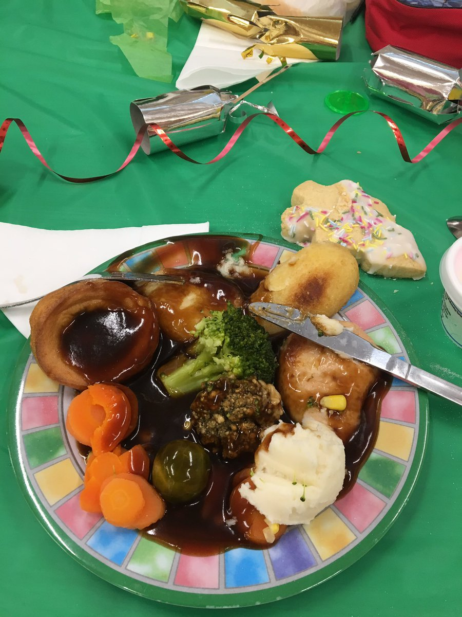 test Twitter Media - Yummy Christmas dinner today. Thanks to Jackie our cook for making the hall look great & for making these lovely table decorations https://t.co/7vf4EKKu3Z
