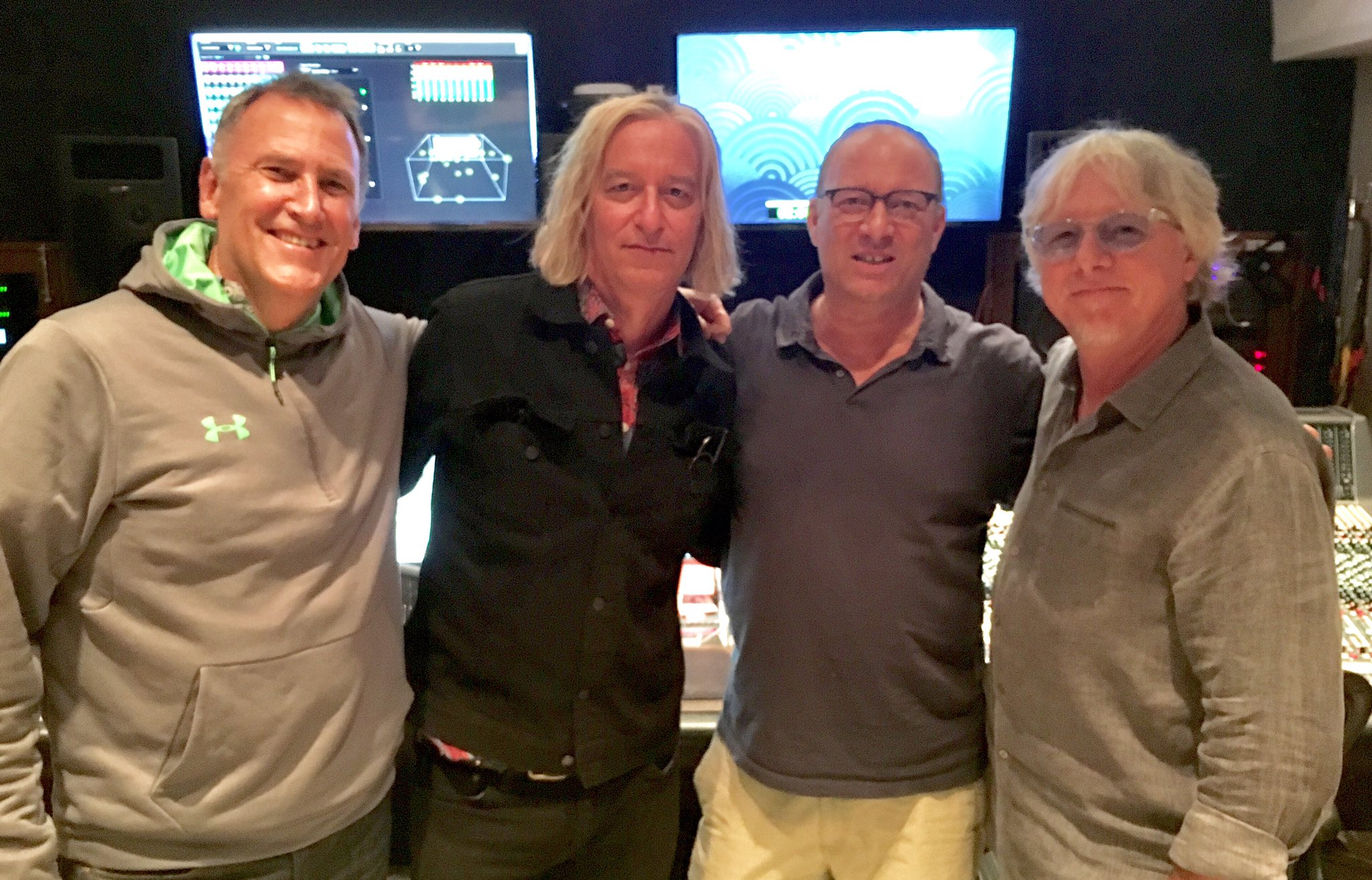 Happy Birthday to Peter Buck of R.E.M. ! It s always amazing working with this talented and super cool guy!