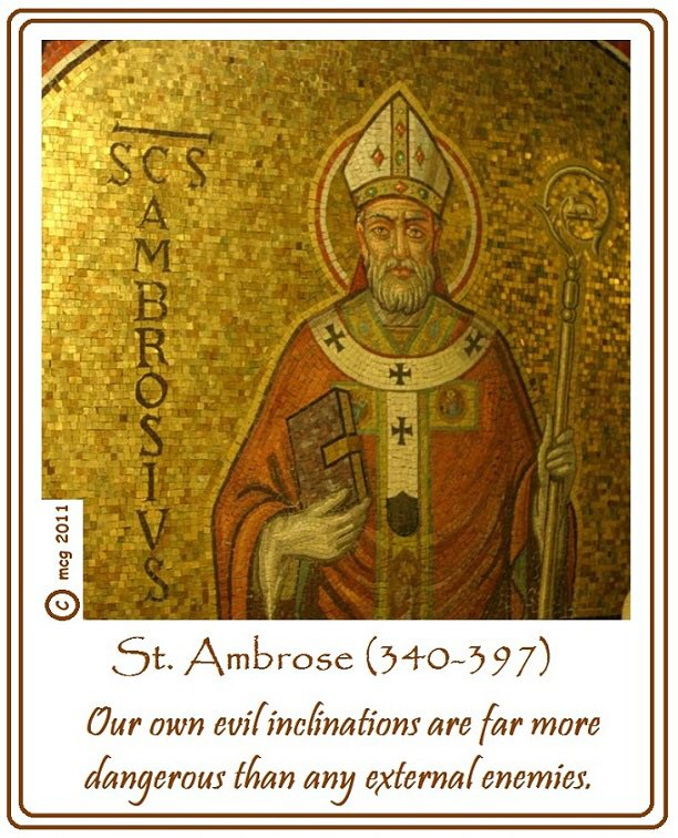 test Twitter Media - Today is the feast of a fantastic bishop, St Ambrose, Bishop of Milan from 374-397. He is also the patron saint of my old school. Please say a prayer today for my intentions and for God's blessing on the teachers and staff, past and present, of St Ambrose College, Altrincham. https://t.co/8eEy54jjNa