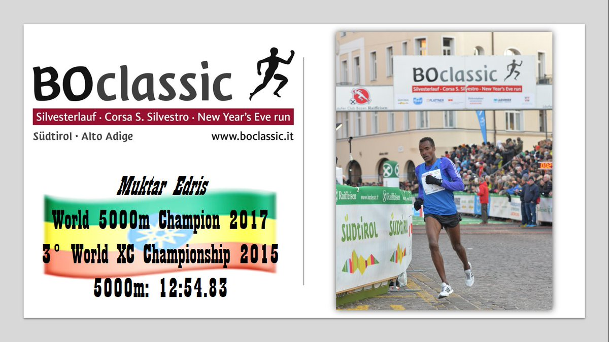 RT @boclassic: Muktar Edris and Netsanet Gudeta will be at #BOclassic2018 ! 😱💪 #roadrace #NewYearsEve #BOclassic https://t.co/bNhC9EBOpO