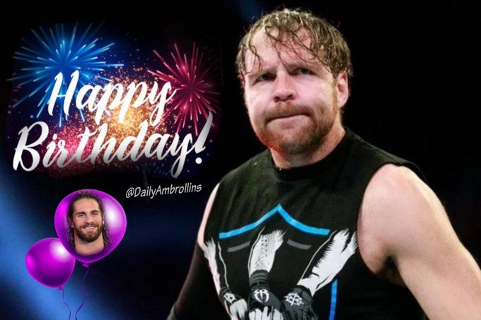 Happy lunatic birthday to the one and only Dean Ambrose