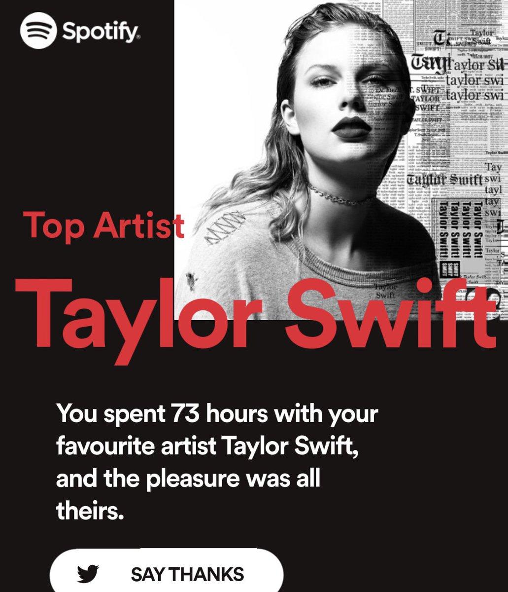 RT @574657938: #SpotifyWrapped2018  #Spotify2018 #TaylorSwift #reputation https://t.co/UeMLTTIlws