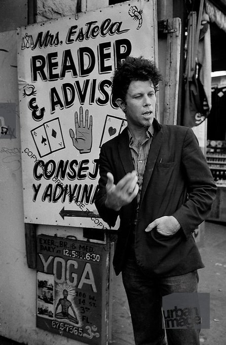 """A gentleman is someone who can play the accordion, but doesn\t.\""  Happy birthday Tom Waits (69)"