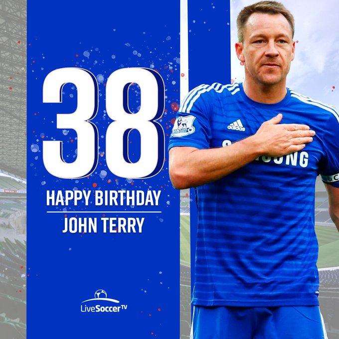 Happy birthday, John Terry