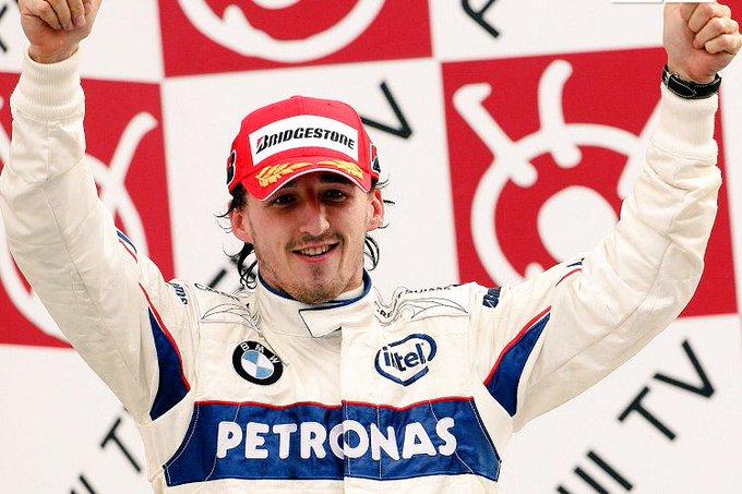 Happy 34th Birthday to Robert Kubica!