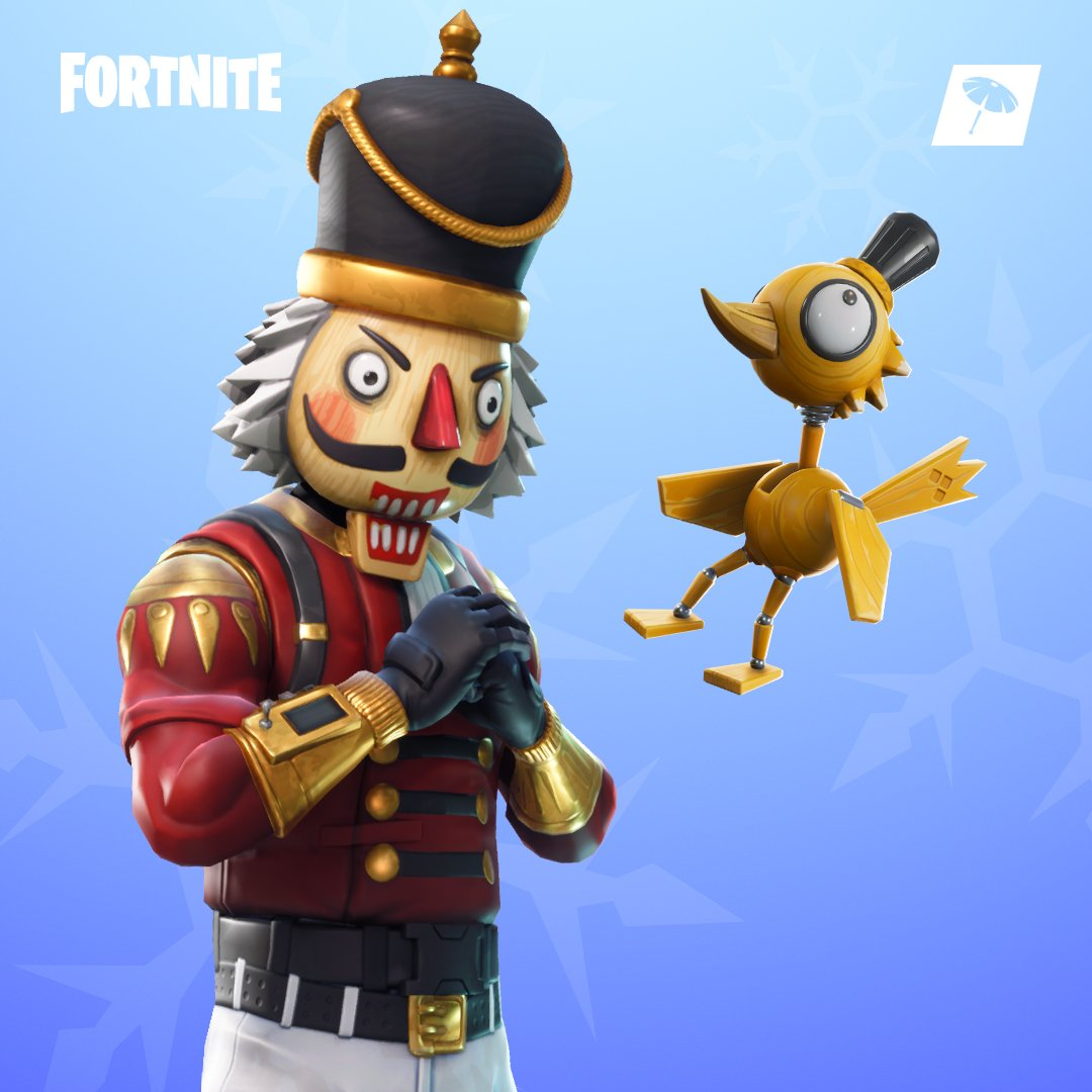 test Twitter Media - Do you take your chestnuts roasted or cracked? 🌰  The new Crackabella Outfit, Snow Globe Pickaxe, and Crackshot Outfit are available in the Item Shop! https://t.co/cM5bS0VadC
