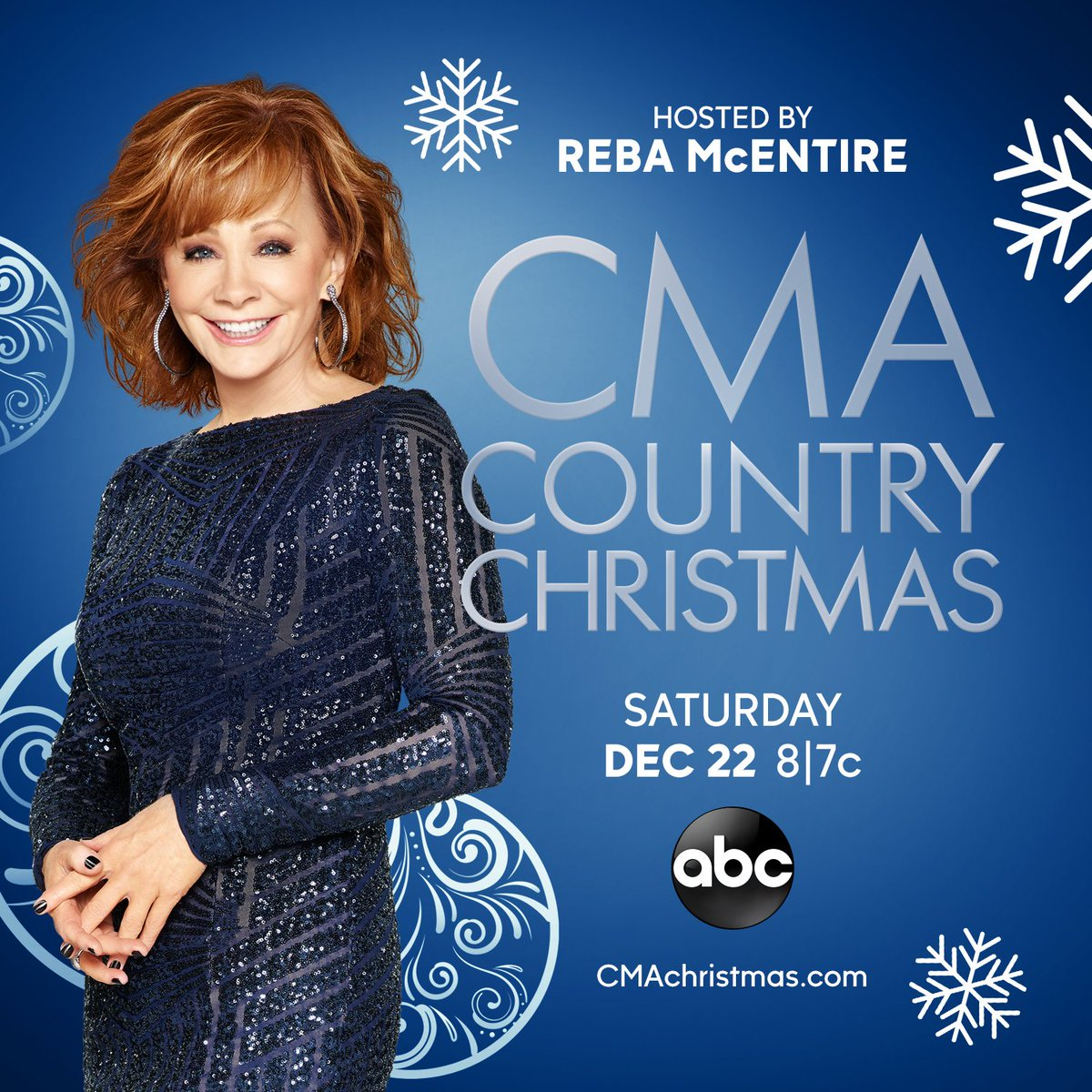 RT @reba: Missed all the fun of #CMAchristmas? Don't worry! Catch the replay this Saturday at 8/7c on @ABCNetwork! https://t.co/Aq2DYxIpNJ
