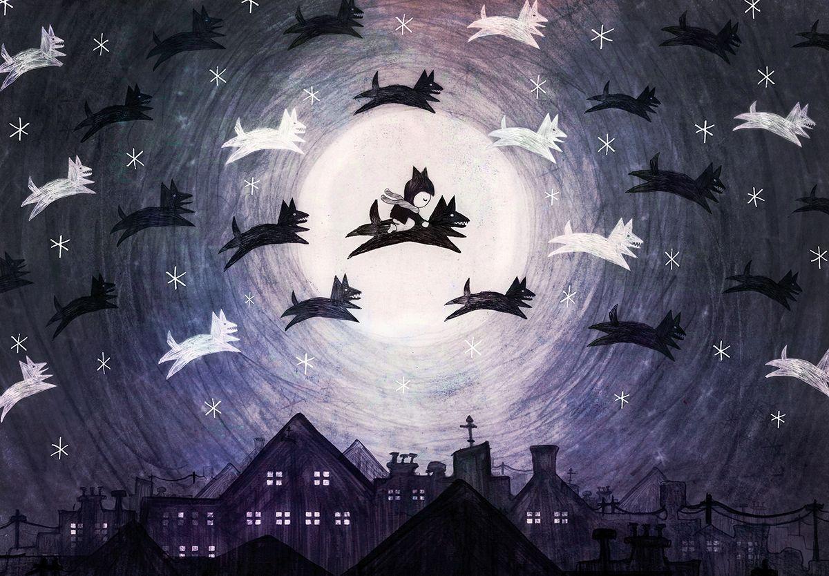 Behold, the December wolves!! https://t.co/e4skfviTNK https://t.co/IKfLArCynP