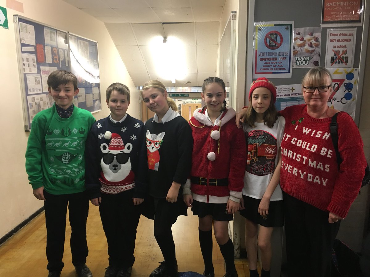 test Twitter Media - Brilliant effort from staff and learners here at Castlebrook for our Christmas Jumper day! £391 raised for Save the Children! #SaveTheChildren https://t.co/TDmVvcxfjM