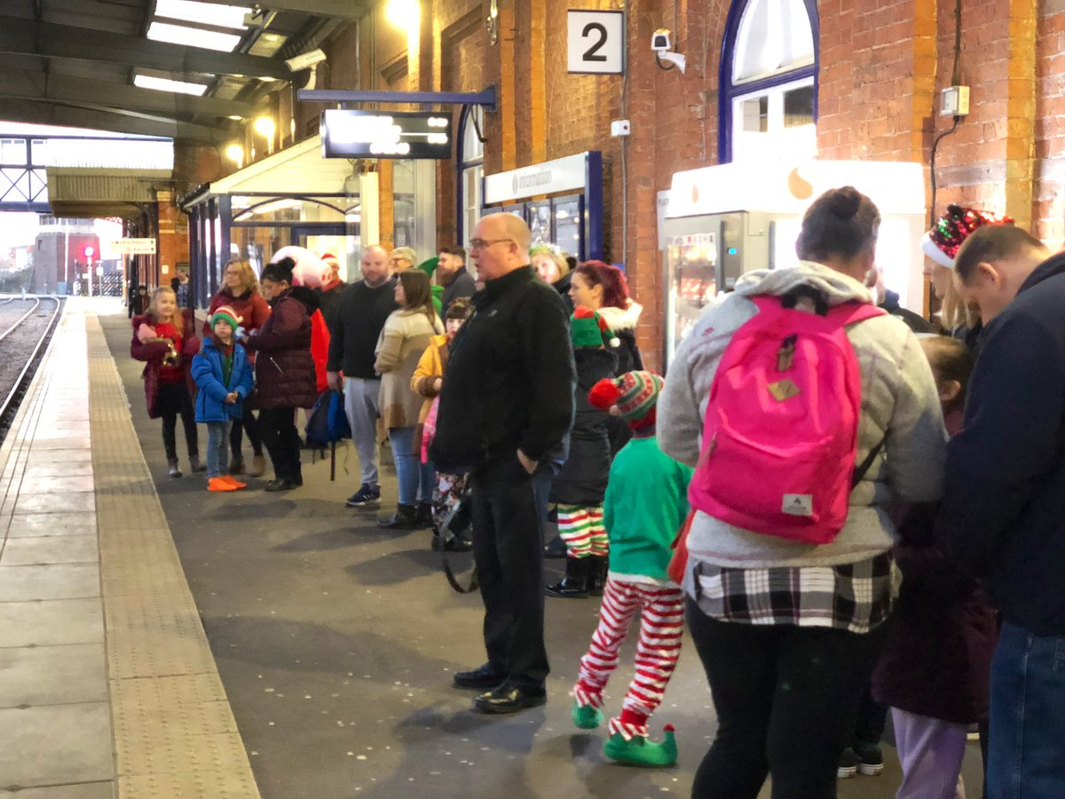test Twitter Media - Tune in to @itvcalendar tonight to watch @AdamFowlerITV report from #SantaExpress @northernbelletr as many children go to meet Santa with @whenyouwishUK @chris_kammy @SophiePowles https://t.co/TlM2JgLIZq