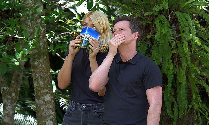 Holly Willoughby finally faces one of her biggest fears just before I'm a Celebrity