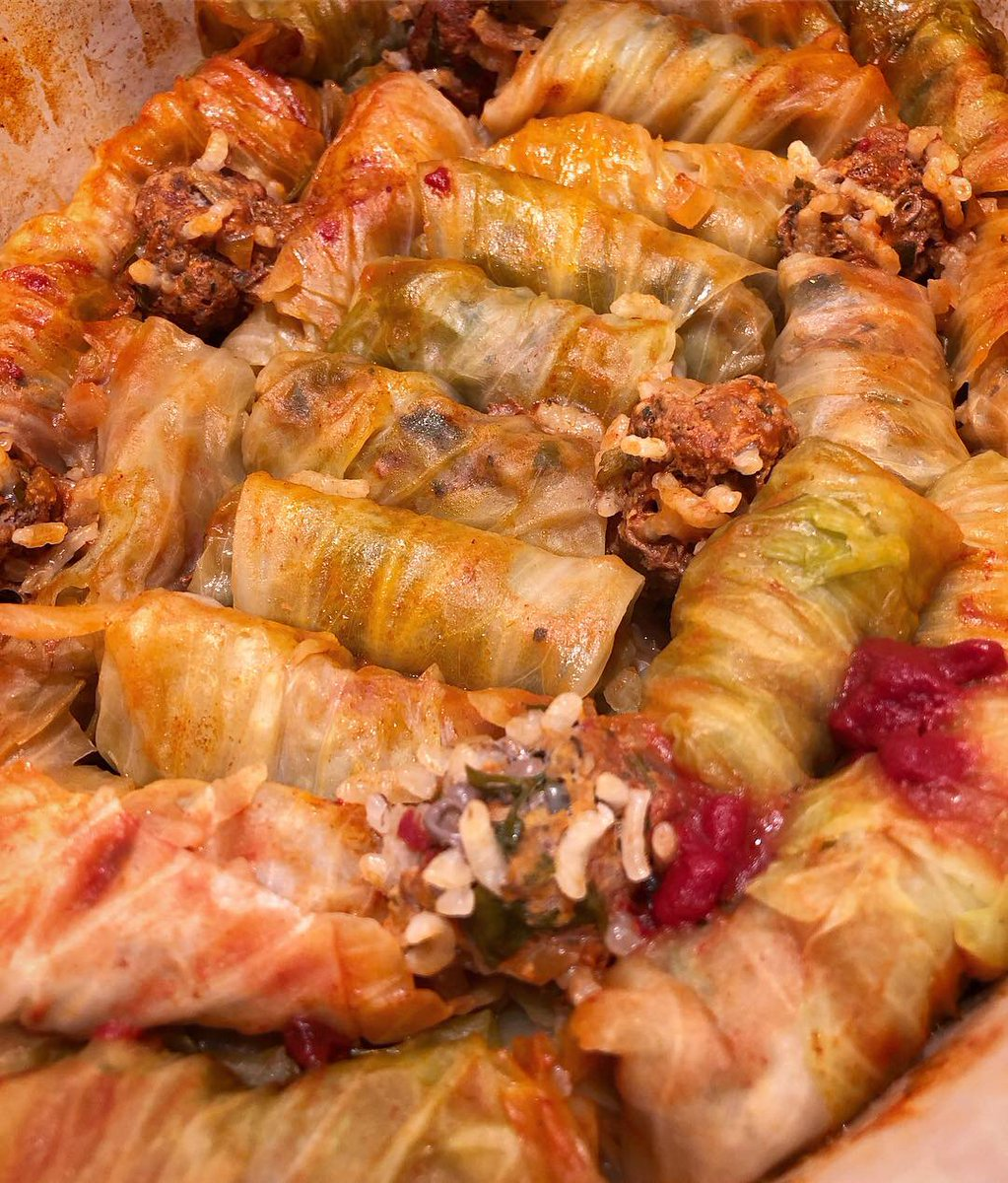 Cabbage rolls definitely good for the soul, thanks @istanbulfood for the inspiration 🙏 ❤️ https://t.co/kZ3CQGYzRf