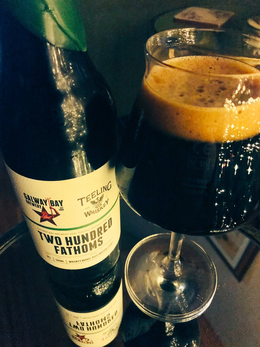 Can't even describe how good this is 😲 @galwaybeer @TeelingWhiskey (^Beacon) https://t.co/QGX16UPdms