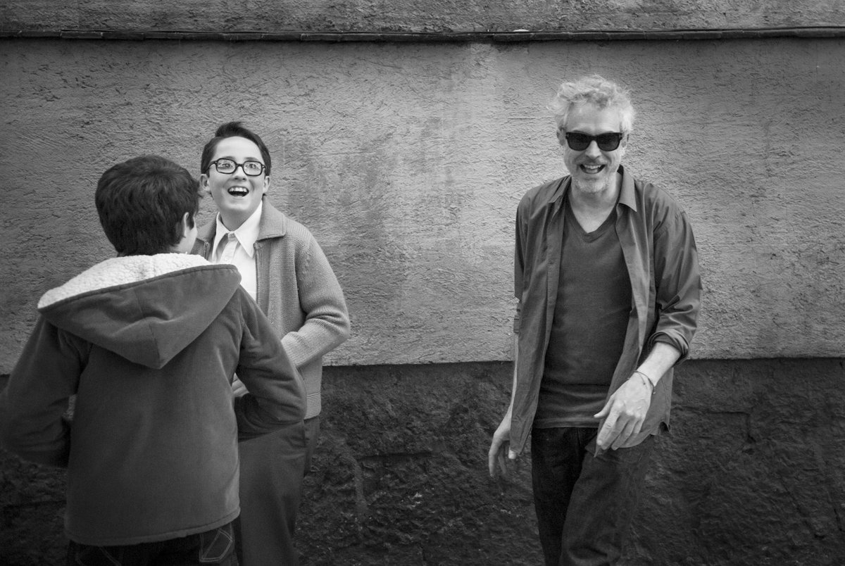 RT @alfonsocuaron: Descubriendo ROMA Discovering ROMA  Photo by @CarlosSomonte   @ROMACuaron  #ROMACuarón https://t.co/77SjGw0GN7