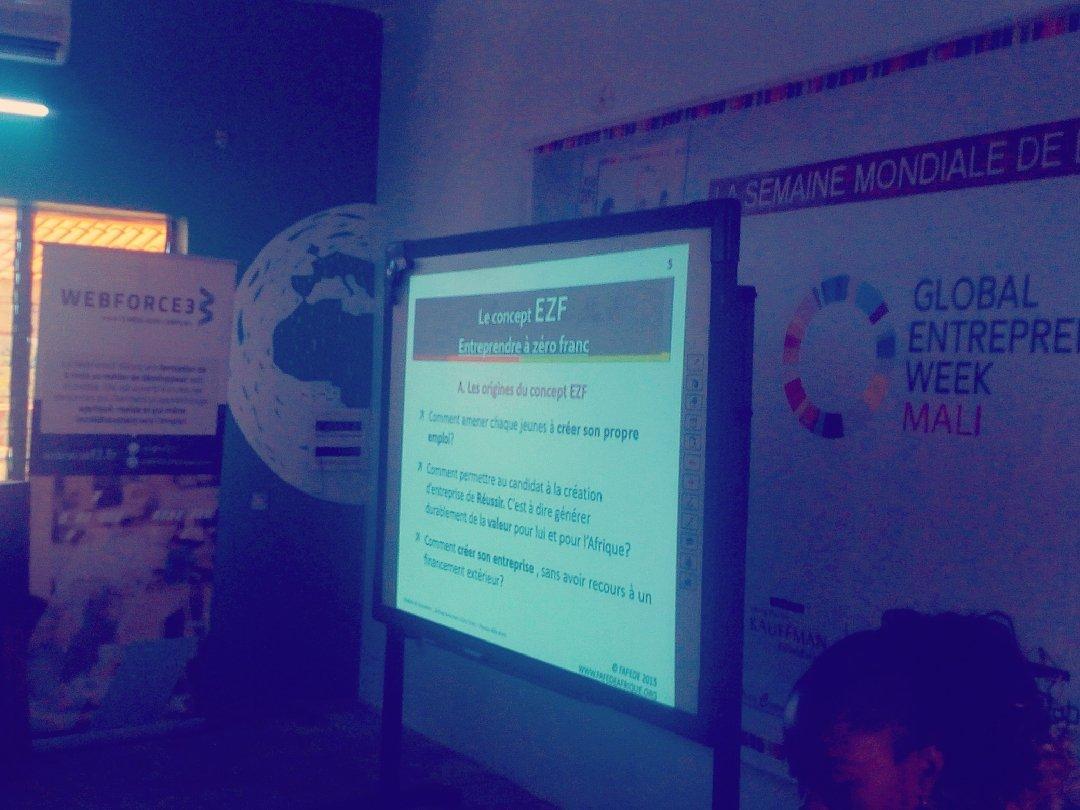 test Twitter Media - Debut de 4 jours de formation sur : #Entrepreneuriat  à partir de Zéro Franc avec Dr Samuel Mathey   #EZF #Jokkolabs #ESCT #Mali #Bamako #GEW https://t.co/wfA4qXzQCH