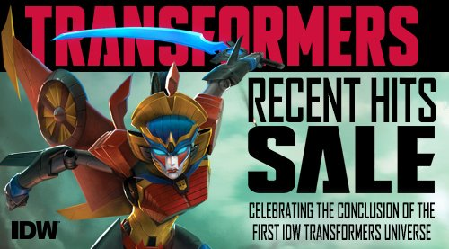 RT @comiXology: Save up to 60% on @IDWPublishing's #Transformers comics! https://t.co/txx55p74Nj https://t.co/yuTgar90Vu