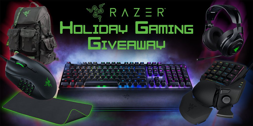test Twitter Media - Last week to enter for a chance to win the Micro Center and @Razer  #Holiday #Gaming #Giveaway that includes a #Razer #GamingKeyboard, #GamingKeypad, Backpack, #GamingHeadset, #GamingMouse and #GamingMousePad all by Gamers, for Gamers! https://t.co/AoDtIDMZBb https://t.co/eU8cAMhfu5