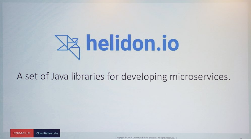 Java microservice library.  Helidon is not your father's cup of Joe!  @helidon_project https://t.co/2qOpxugrsI
