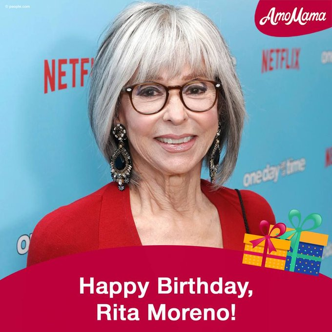 We wish Rita Moreno a wonderful 87th Birthday! Many happy returns!