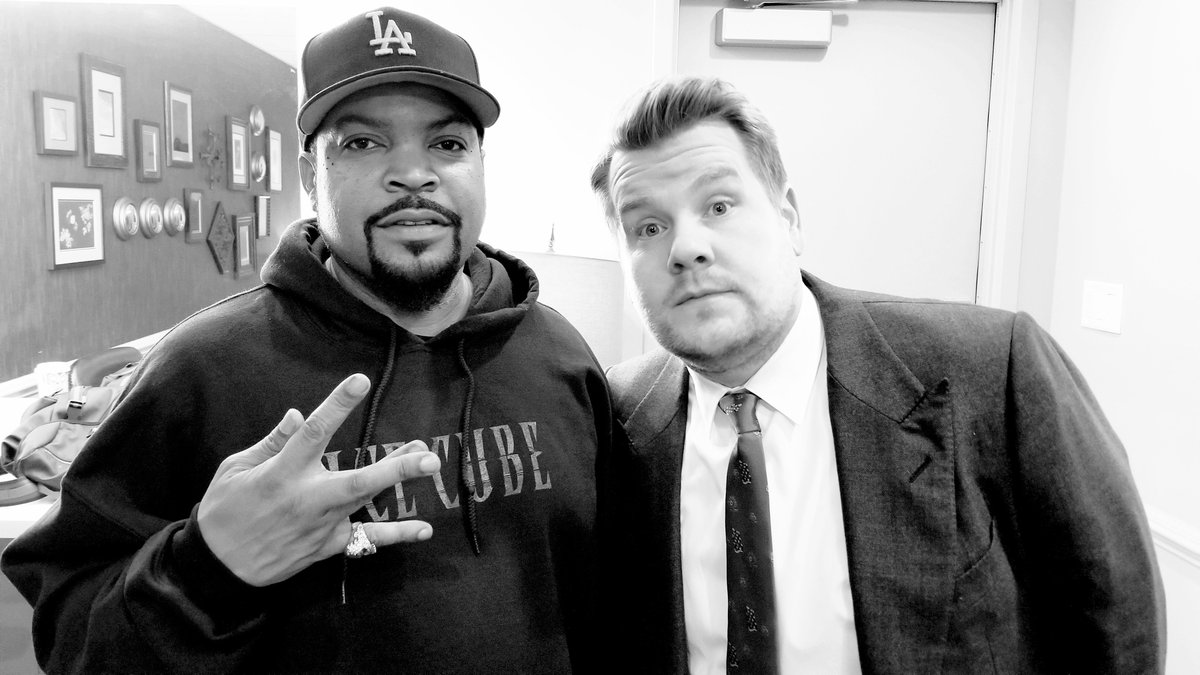 Kickin it with James Corden tonight on the @latelateshow!  Tune in on @CBS https://t.co/cnCpNmxOFk