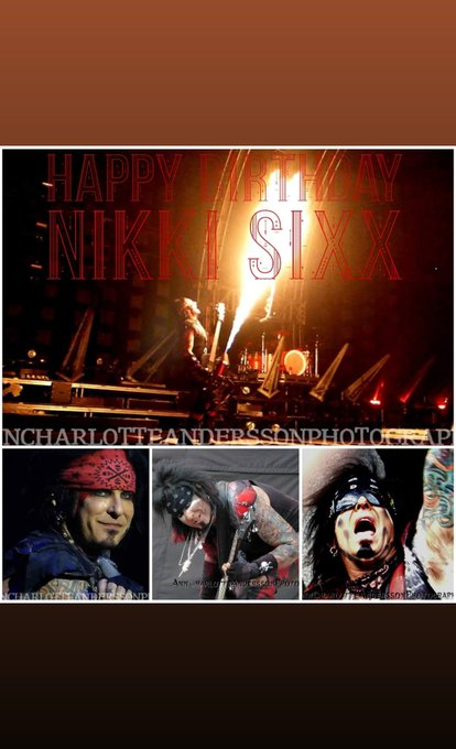 Happy Birthday, Nikki Sixx