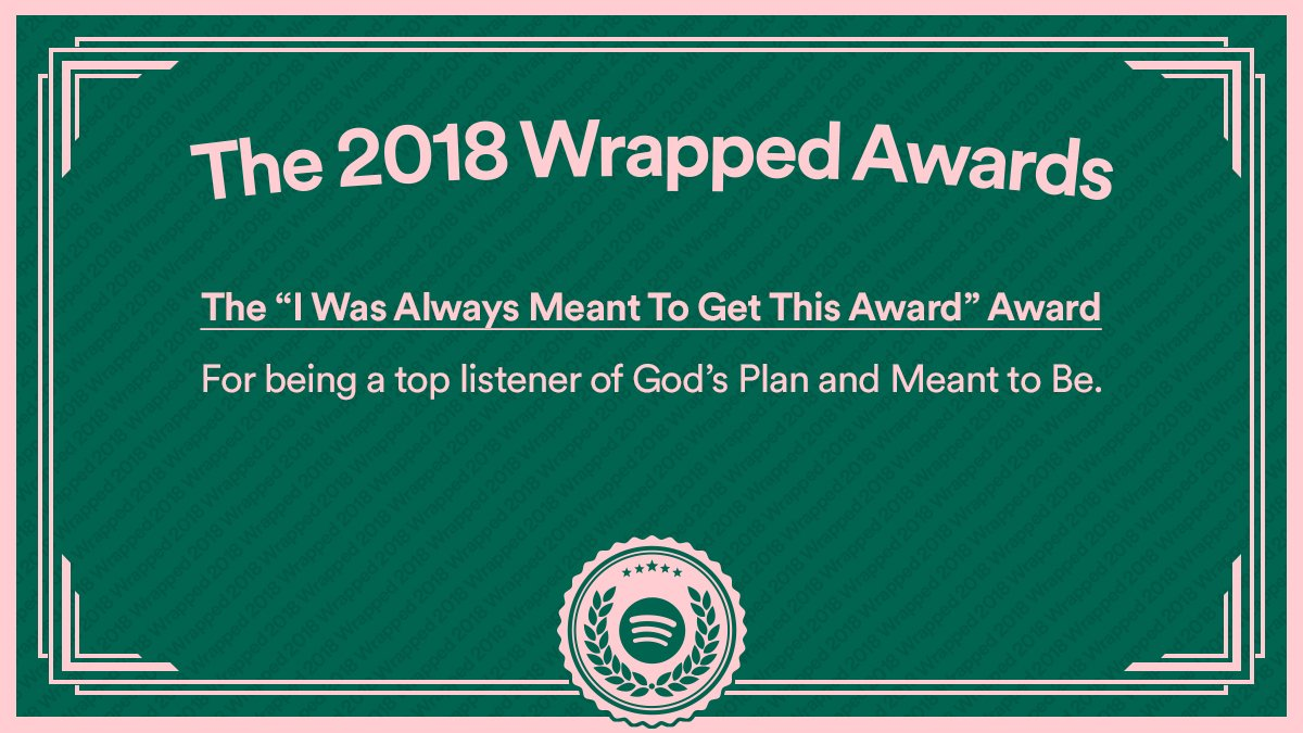 @OMGitsKNX To say we're impressed with your listening this year would be an understatement. #2018Wrapped https://t.co/w2T2dvE3UN