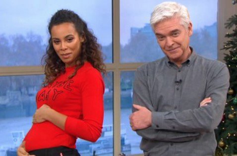 Rochelle Humes prompts shock pregnancy rumours with controversial jumper #ThisMorning https://t.co/nIyjZ81sLP https://t.co/R57UtT62zV