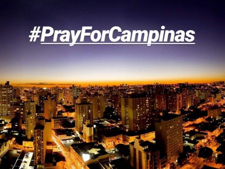 Que horror que aconteceu hoje na minha amada Campinas! ???????? #PrayForCampinas https://t.co/TUcr9AkCq9