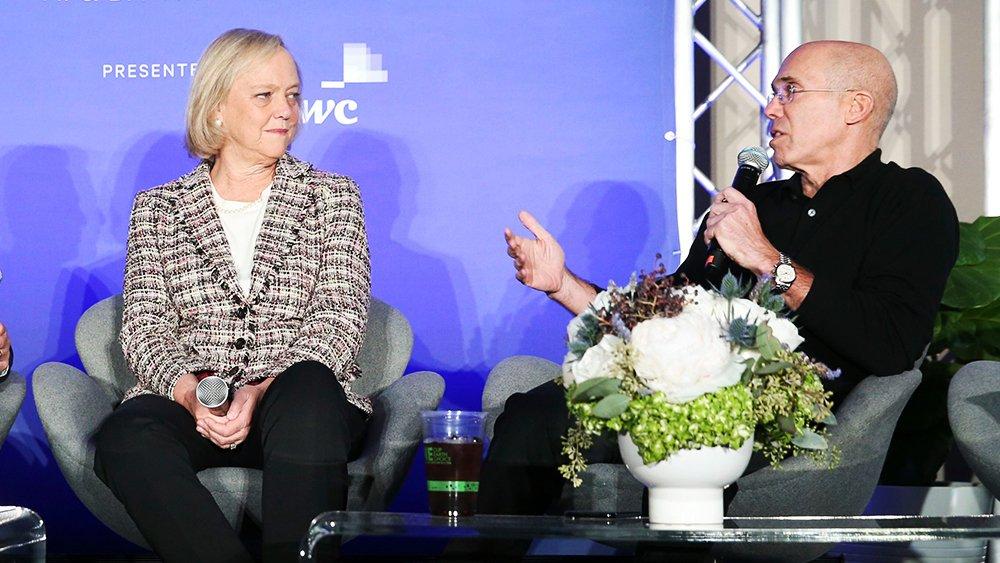 🎧 Listen: https://t.co/o4u190PA6o  Jeffrey Katzenberg and Meg Whitman go long on short-form entertainment https://t.co/gZ7mqiI0vW