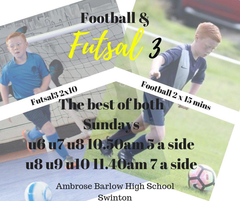RT @futsal3s: Football and futsal3 combo for our #Salford teams now available. #futsal3 #LetThemPlay https://t.co/Jma0rfizLs