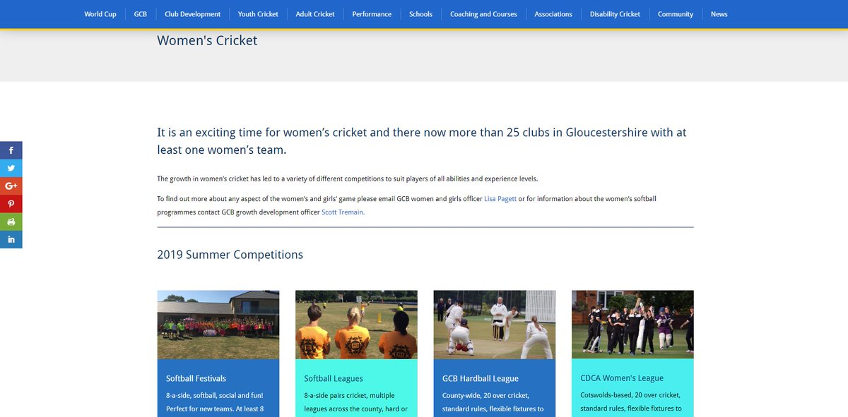 test Twitter Media - We've just revamped the Women's Cricket pages on our website with info of all our 2019 competitions - including how to enter. Check them out at https://t.co/D9YRKtGASc https://t.co/n5w3sCOXjt