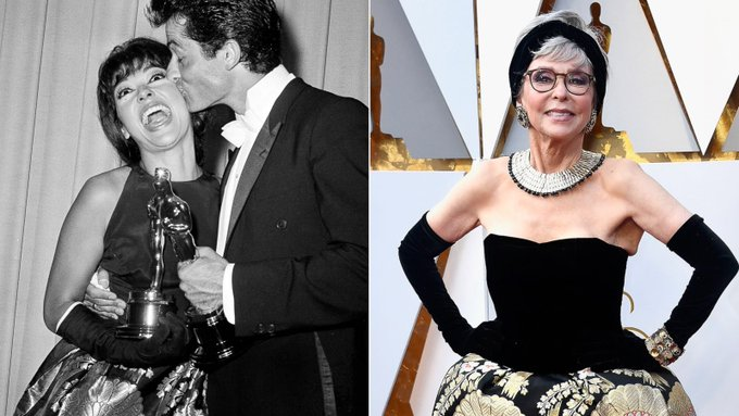 Happy 87th birthday to Rita Moreno the personification of fabulousness!!!