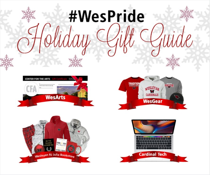 test Twitter Media - This holiday season, give the gift of Wes 🎁 Here are a few ideas:  A @WesCFA gift certificate: https://t.co/VCMM4jwtKb @wes_athletics Cardinal Gear: https://t.co/8MU2TGTmoJ Gifts from (or a gift card to) @wesrjjulia : https://t.co/7sKHcEb88X More here: https://t.co/UTf29rDMPo https://t.co/cggGBIO9ht