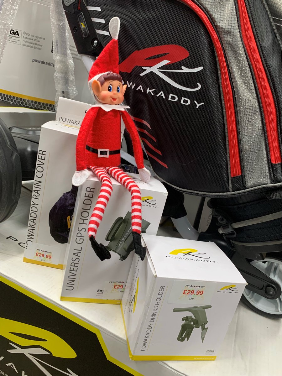 test Twitter Media - Elfis can't believe the amazing deal on @PowaKaddy_Golf we have in the shop at the moment😲🏌️‍♀️🏌️‍♂️  The prefect gift this Christmas🎁🎄  For more information contact our Pro Shop on 01446 781781 (Opt. 1). . . #christmasgiftideas #golfgifts #powakaddyuk #freegolfbag #proshopoffers https://t.co/PaynznOlnV