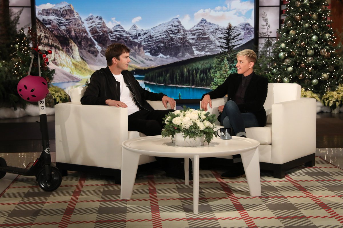 Love spending time with friends and giving things away! Tune in today at 3:00pm PT on NBC to watch @TheEllenShow https://t.co/7gfwItrEUz