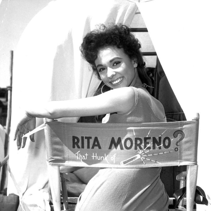 Happy birthday to Rita Moreno!