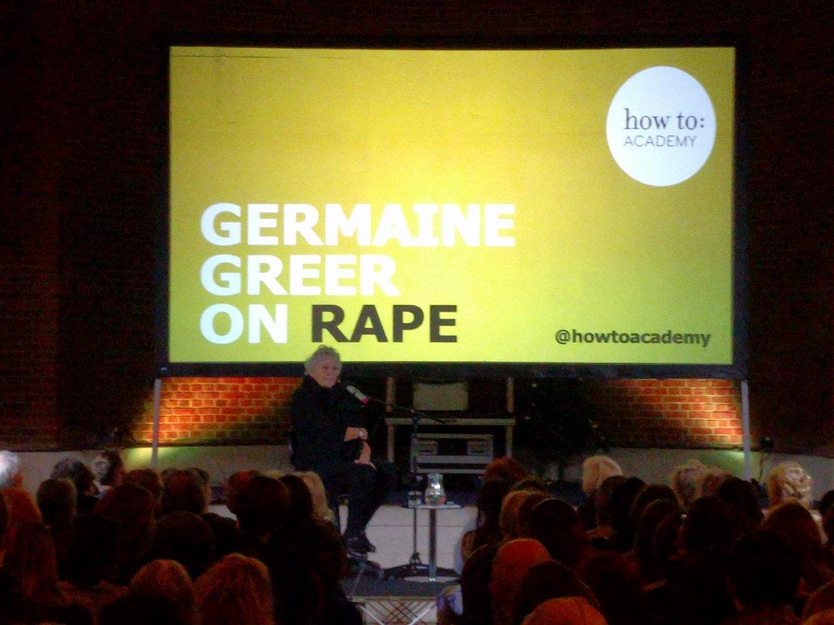 """test Twitter Media - @TheFemaleGreer """"Rape is a hate crime."""" https://t.co/hy1q4shrtz"""