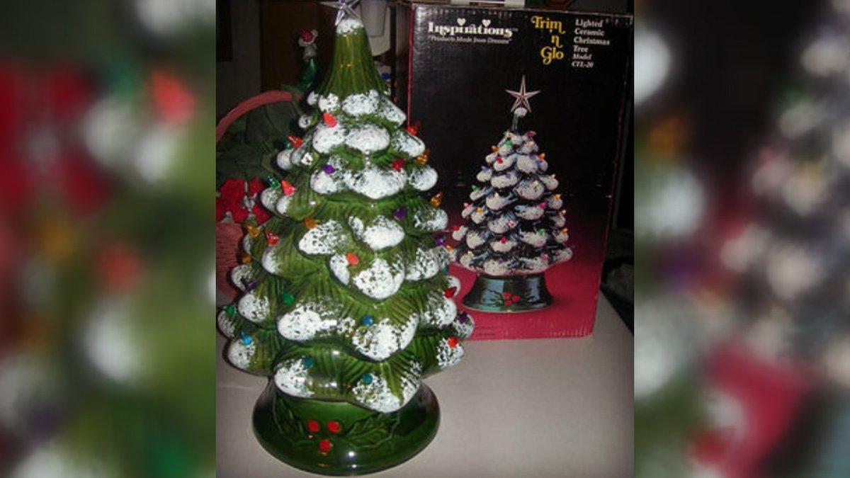 Those Vintage Ceramic Christmas Trees You Hopefully Still Have