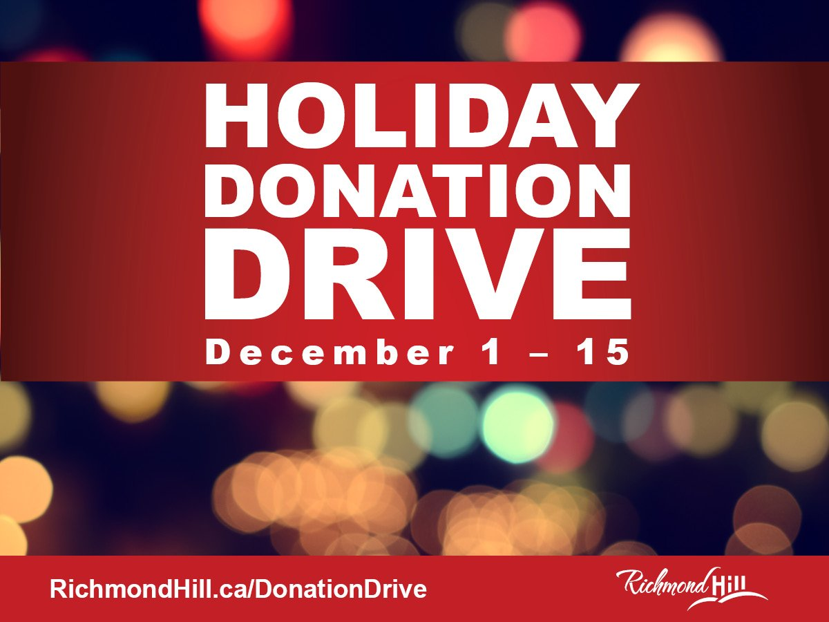 Our Holiday Donation Drive runs until this Saturday, December 15!  DETAILS-->https://t.co/LP26M0ZDB5 https://t.co/UGykPoANmg