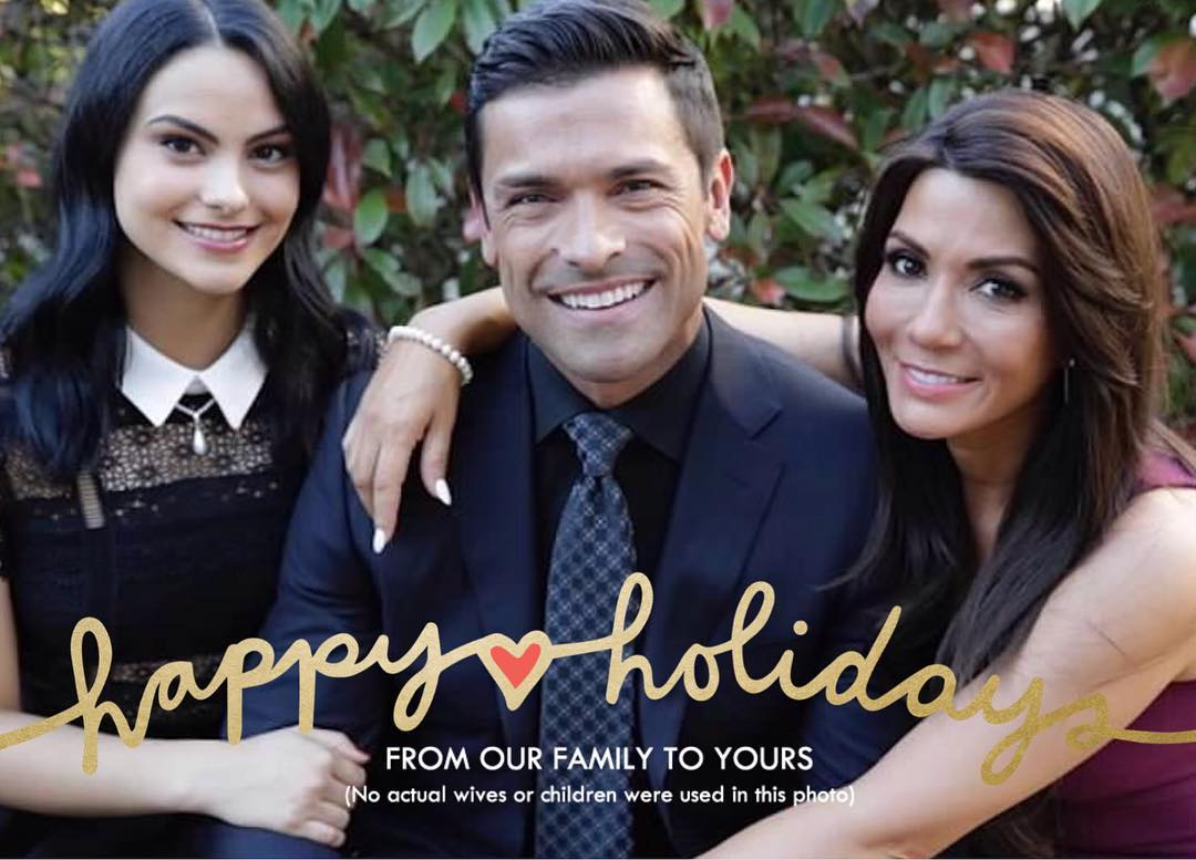 Kelly Ripa's holiday card is her best yet.