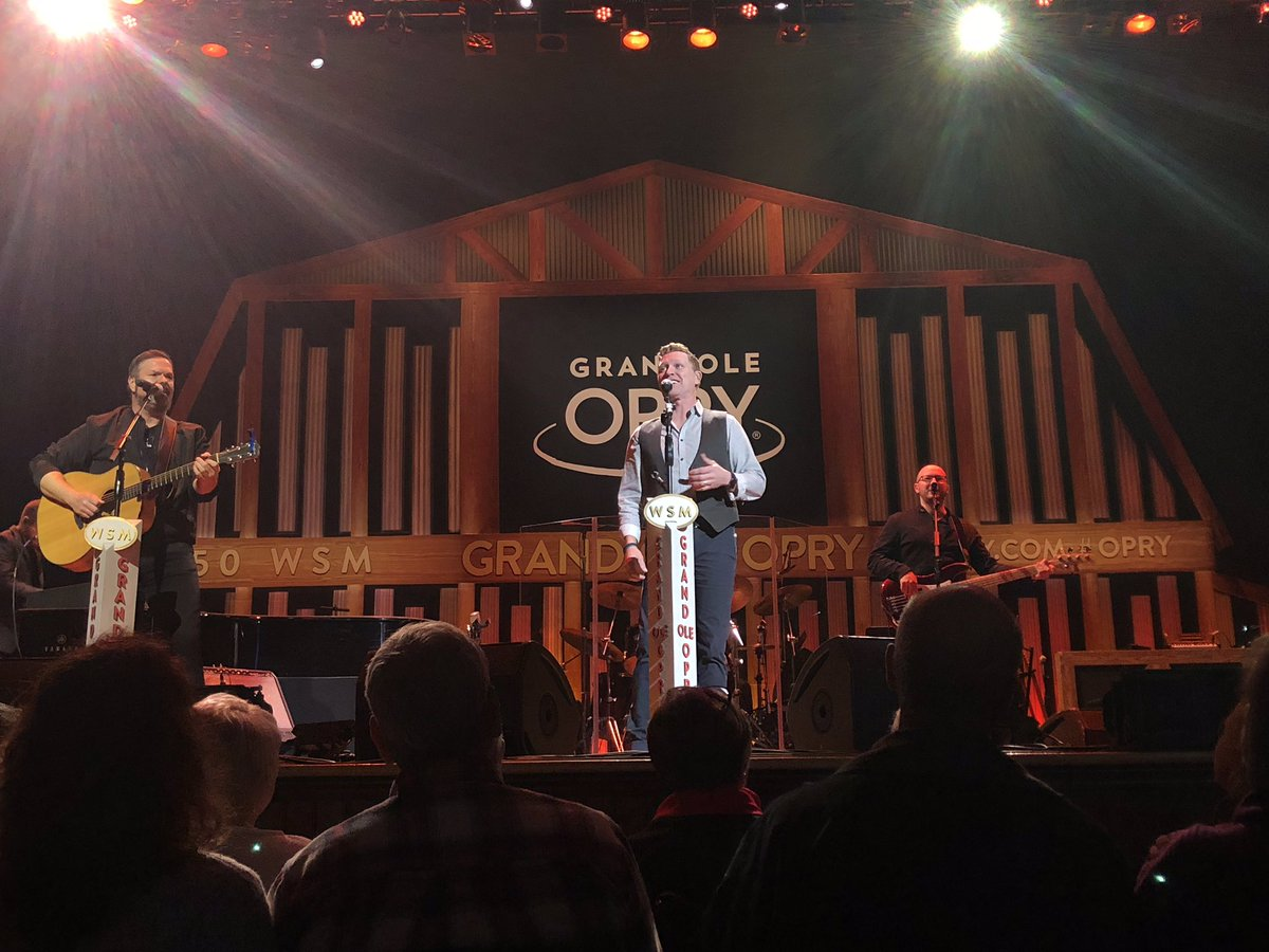 RT @opry: I see Opry member @cmorganmusic 👀 | #Opry @theryman https://t.co/KrCSZfkhV1