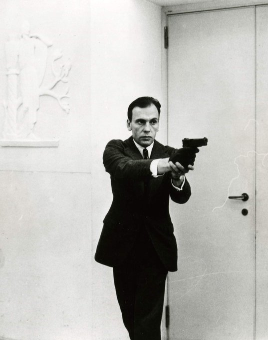 I just want to say happy birthday to the one and only Jean Louis Trintignant. My guy is 88.