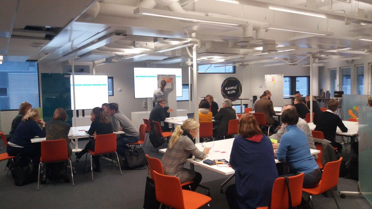 test Twitter Media - Aamupäivä #Tampere3-opetussuunnittelun merkeissä. Agendalla talouteen ja johtamiseen liittyvän osaamisen integroituminen muihin tutkinto-ohjelmiin @TampereUni. Ideoimassa hyvä joukko eri tutkinto-ohjelmien asiantuntijoita. https://t.co/16I0OfHao6