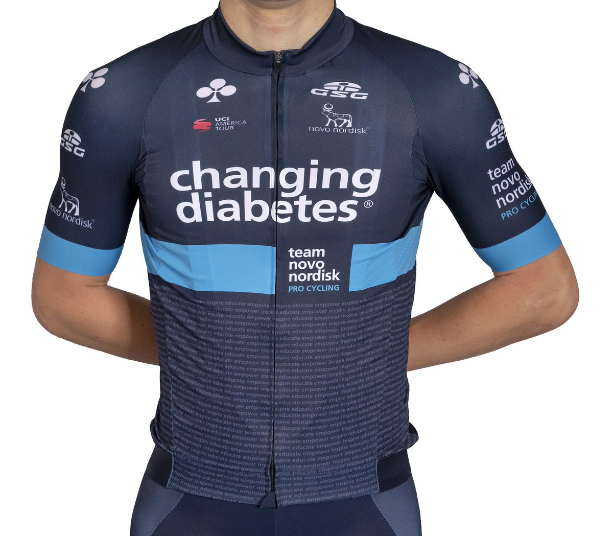 test Twitter Media - Introducing @teamnovonordisk's 2019 @Giessegi_srl jersey!  The 2019 jersey will continue to feature the words #ChangingDiabetes with the words 'inspire, educate and empower' added below the light blue circle, the global symbol for #diabetes awareness. https://t.co/1Jq09vRBaf https://t.co/XXFkUT710d